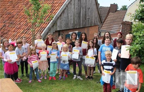 Erfolgreiche Gruppen beim 4. Kinderkulturpreis