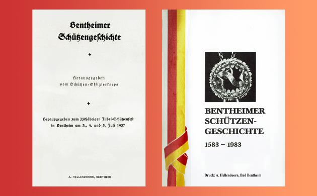 Bentheimer Schützengeschichte in der Bibliothek!