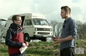 Video: Bentheimer mit Bulli auf Talentsuche