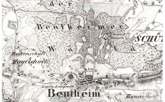 Klicktipp: Historische Landkarte von Bad Bentheim