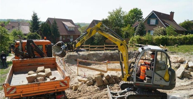 Bentheimer spendet Sandsteine aus abgebranntem Haus