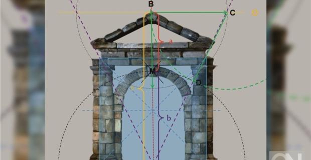 Der Code des Batavia-Portals von Bad Bentheim